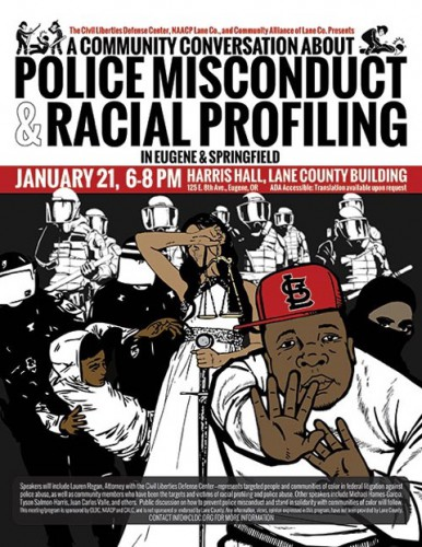 A Community Conversation About Police Misconduct and Racial Profiling