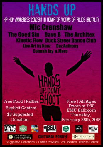 Hands Up! Hip-Hop Awareness Concert
