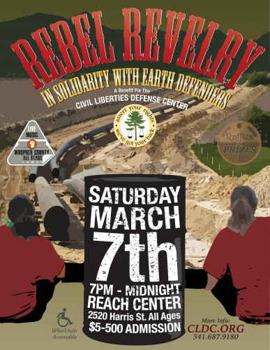 Rebel Revelry In Support With Earth Defenders!