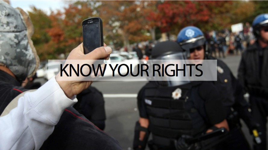 Affirming the right to record police