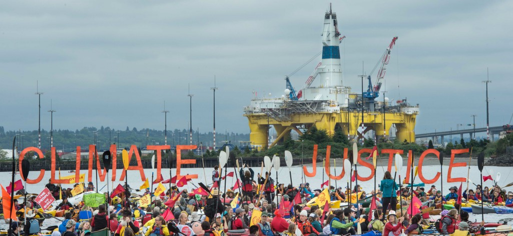 sHell No to Arctic Oil Drilling: Protests in Seattle!