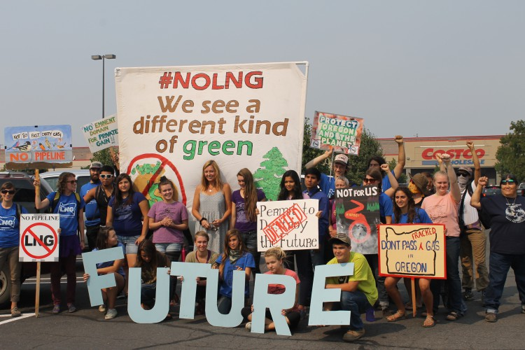 Youth rise up to address climate change