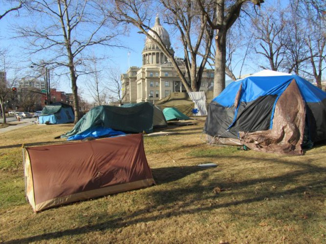 DOJ challenges Idaho's criminalization of homelessness