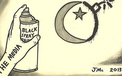Islamaphobia Comic