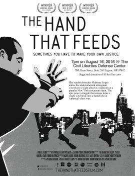 The Hand That Feeds Screening & Discussion @ CLDC Office | Eugene | Oregon | United States