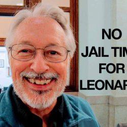 Leonard No jail time