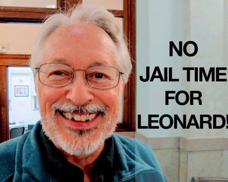 Leonard Higgins, No jail time