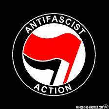 Anti-Fascist Action Flag