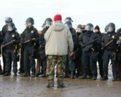 Standing Rock Indigenous Water Protector Sues North Dakota Police  for Abuse of Civil Rights