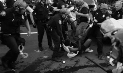Springfield police violently drag Plaintiff Ford and unlawfully arrest him